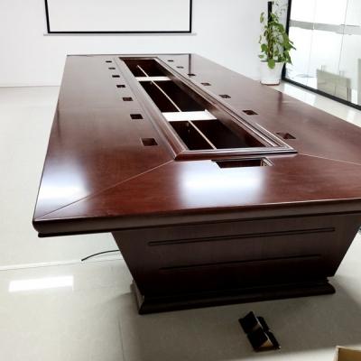 长安厦岗办公室搬迁会议桌安装